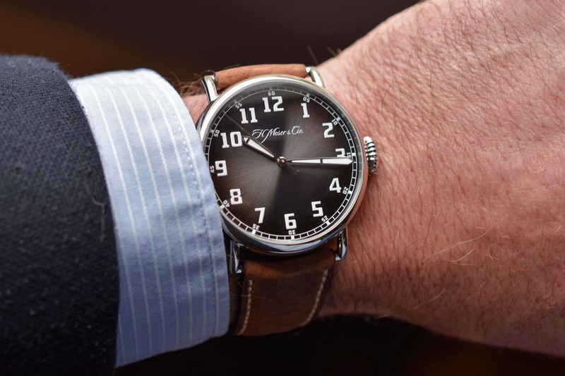 H. Moser & Cie. Presents Two Watches For Bucherer, Including a Surprising Heritage-Pilot Watch (Live Pics)