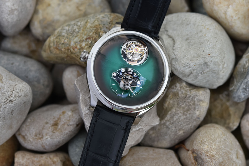 H. Moser & Cie. x MB&F Endeavour Cylindrical Tourbillon (Live Pics & Price)