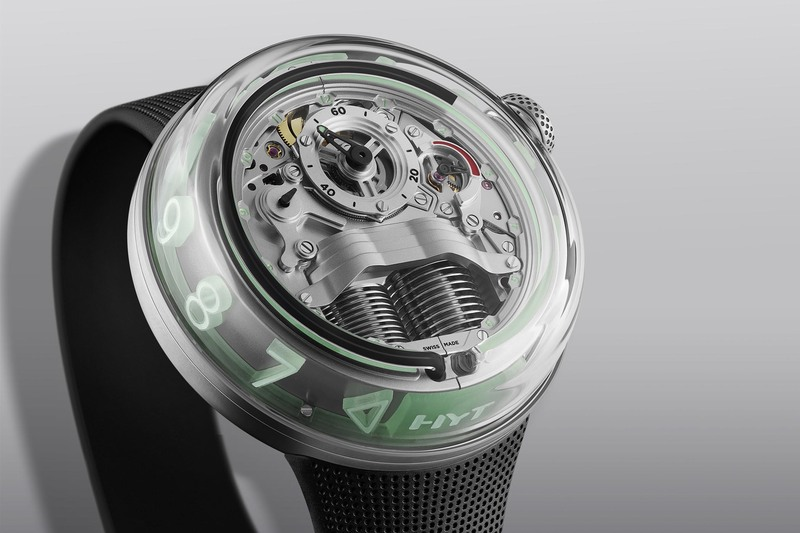 HYT H5, the Evolution of the Fluidic Concept with a New Movement