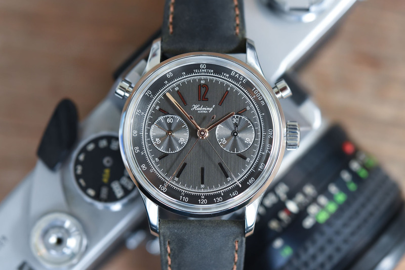 Habring2 Doppel-Felix (by the man who created the IWC Doppelchronograph)