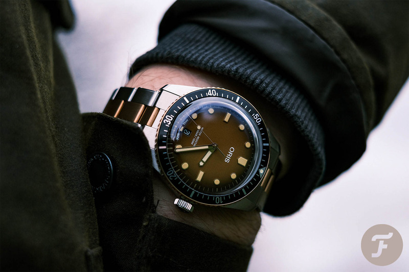 Hands-On With The Oris Divers Sixty-Five Sunset Brown Watch