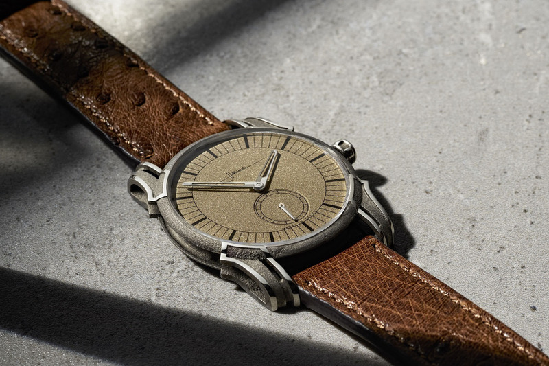 Holthinrichs Watches RAW Ornament – 3D Laser Printed Case and Concrete Texture