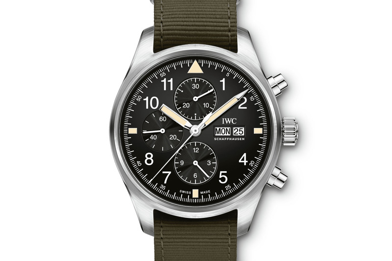 IWC Pilot's Watch Chronograph IW377724 (With New Dial and Ref. 3706 Look)