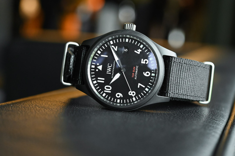 IWC Pilot's Watch Automatic TOP GUN – New Ceramic Case and In-House Calibre