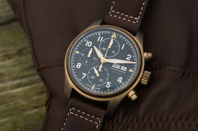 IWC Pilot's Watch Chronograph Spitfire Bronze, with 41mm Case & Manufacture Movement (Hands-On)