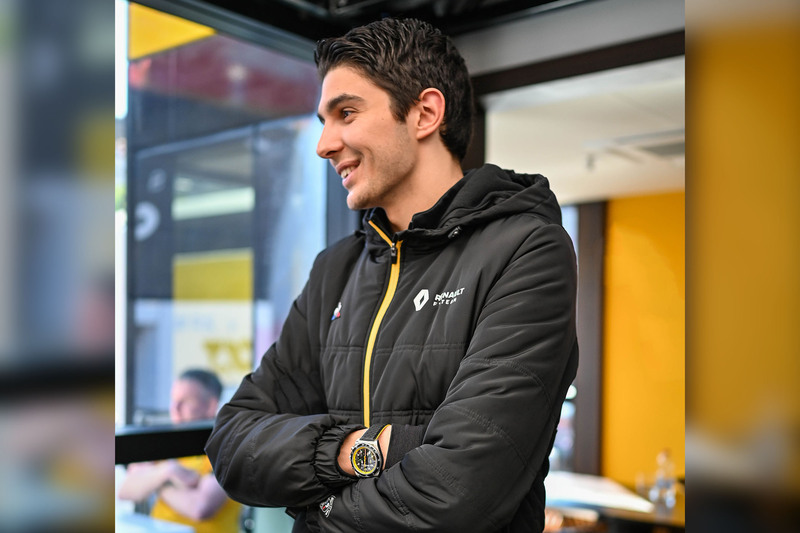 In Conversation with Esteban Ocon, Renault F1 Driver, During the Pre-Season Tests