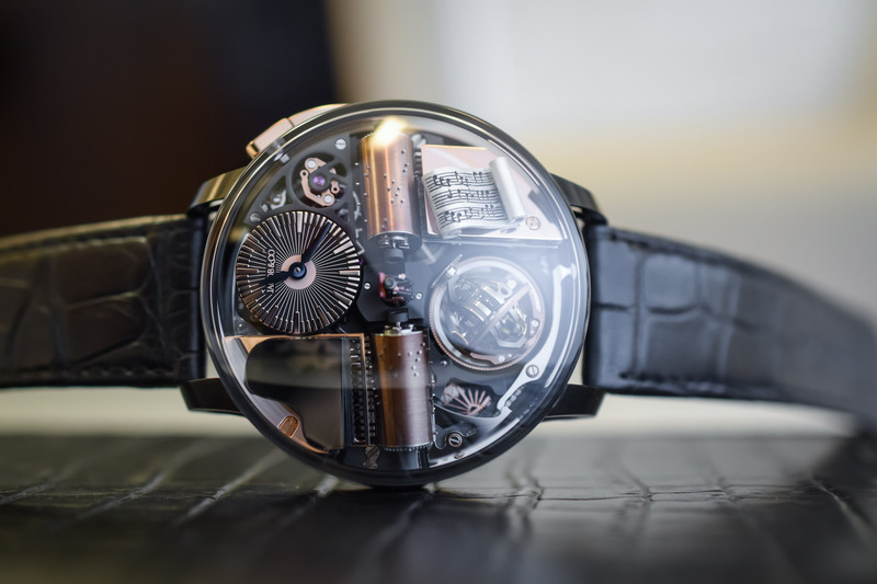 Jacob & Co. Opera Godfather Edition – Mechanically (and musically) Intriguing