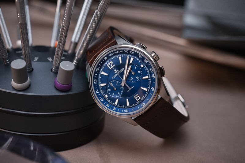 Jaeger-LeCoultre Polaris Chronograph 42mm: the need for speed