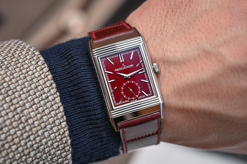 Jaeger-LeCoultre Reverso Tribute Burgundy and Two New Reverso Duoface (Hands-On)