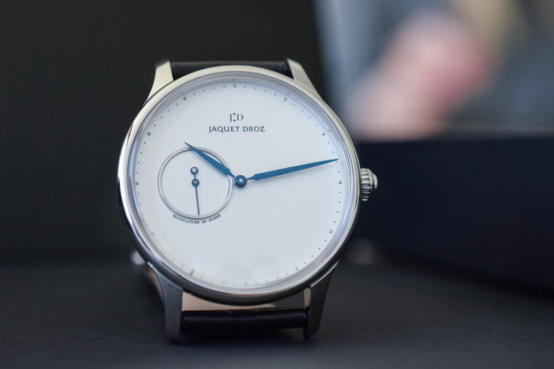 Jaquet Droz Grande Heure Minute – Minimalism to the Max
