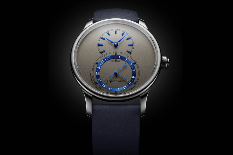 Jaquet Droz Grande Seconde Quantième, now in 41mm and with New Colours