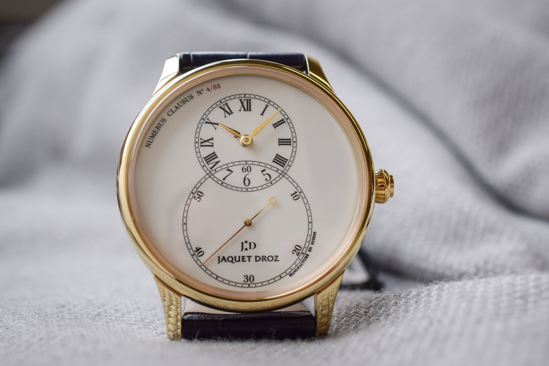 Jaquet Droz Grande Seconde Tribute – Yellow Gold and Ivory Enamel
