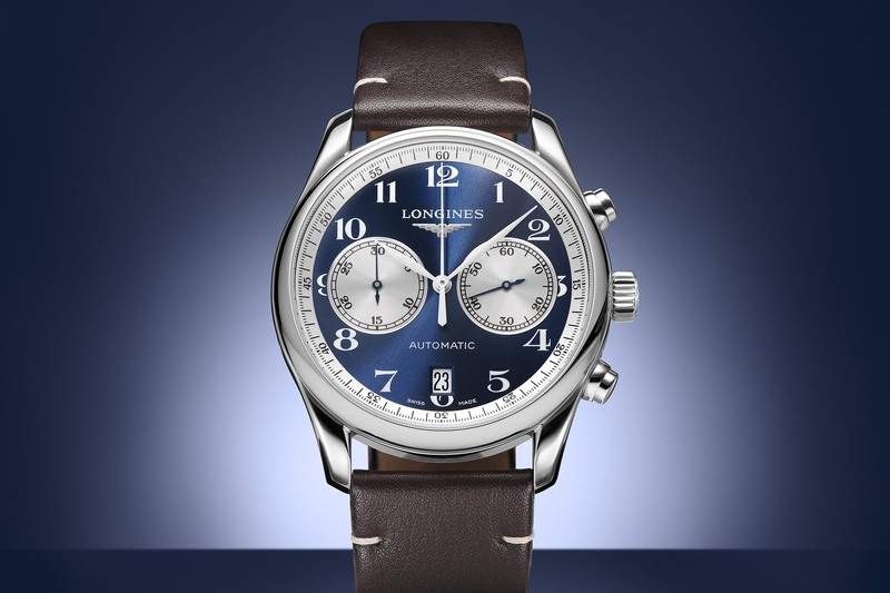 """Longines Master Collection Chronograph Bucherer """"Blue Editions"""""""