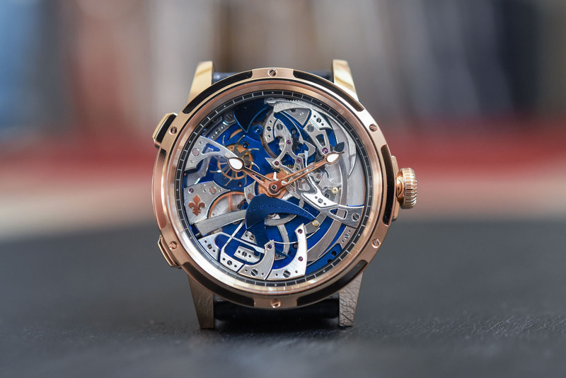 Louis Moinet Ultravox, A Spectacular Staging of the Hour Strike Complication Made with Eric Coudray (Live Pics)