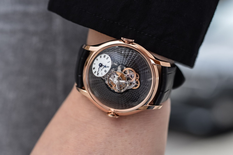 MB&F LM FlyingT Red Gold and Platinum, now Without Diamonds