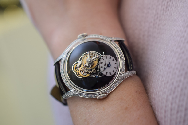 MB&F Legacy Machine Flying T – The First MB&F Dedicated to Women