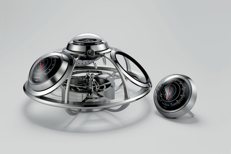 """MB&F Teams Up with L'Epée to Create The Fifth Element, A Unique """"Horological Weather Station"""""""