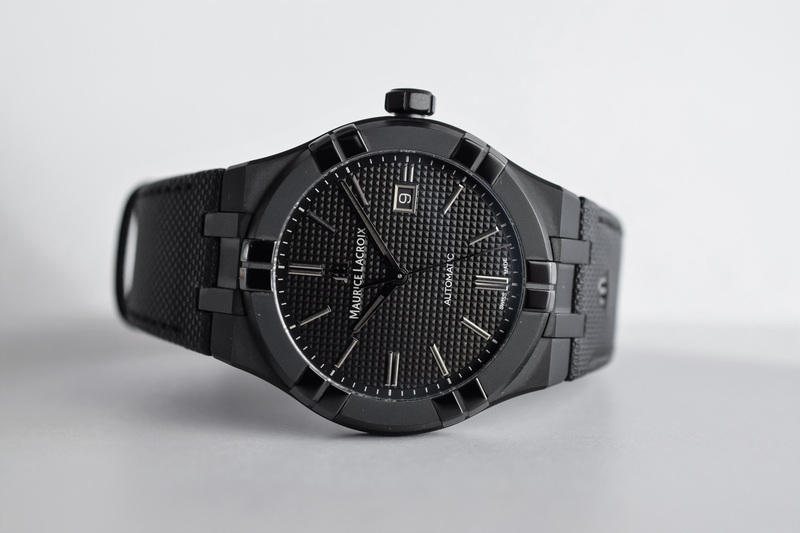 Maurice Lacroix Aikon Automatic All-Black (Hands-On)