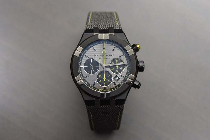 """Maurice Lacroix Aikon Chronograph Automatic """"Chase Your Watch"""" Limited Edition"""