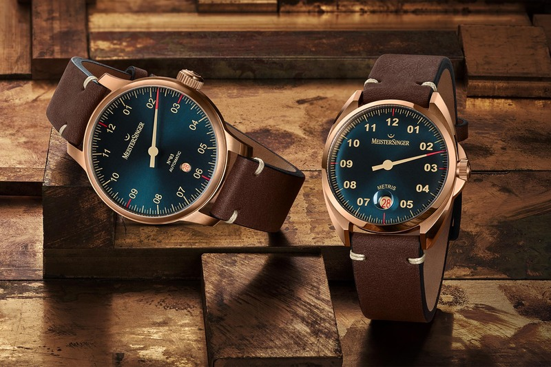 MeisterSinger Launches Bronze Editions of the No. 03, Perigraph and Metris