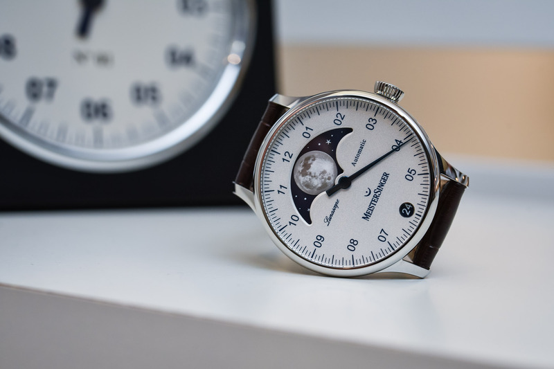 """MeisterSinger Lunascope – The Single-Hand Watch goes """"Astronomical"""""""