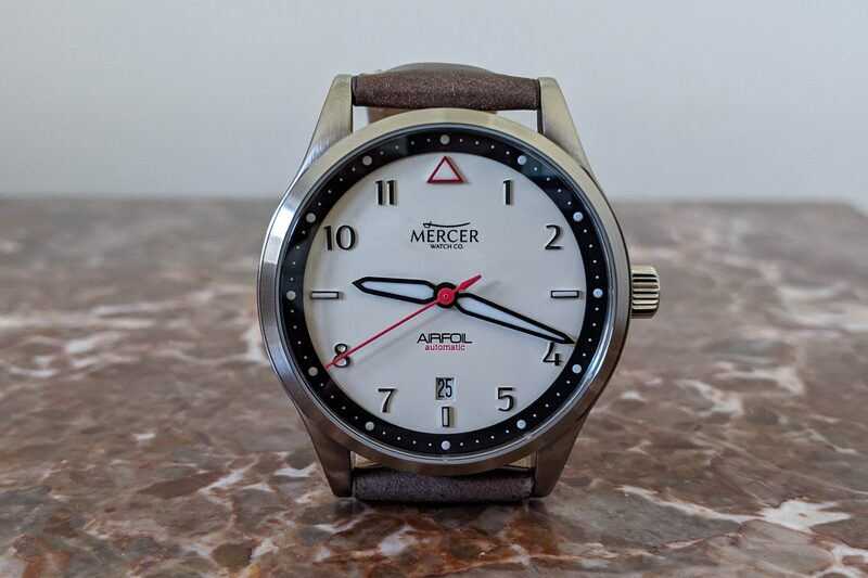 Mercer Airfoil, an Affordable Pilot Watch with a Swiss Heart (Review)