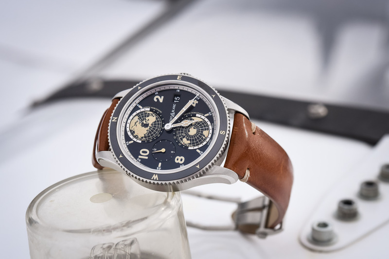 Montblanc 1858 Geosphere – An Original and Sporty WorldTime Watch (SIHH 2018)