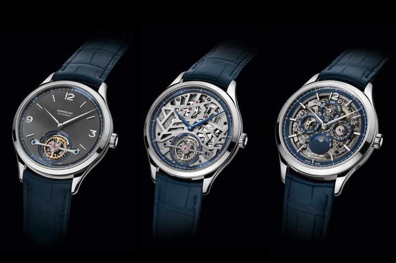 Montblanc Heritage Chronométrie Collection 2018 with New Openworked Movements and Slimmer Cases