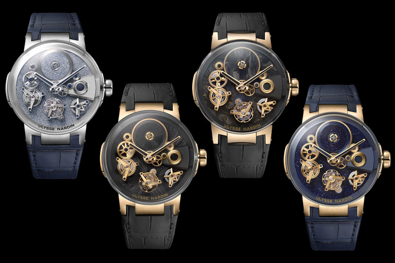 New Versions of the Ulysse Nardin Executive Free Wheel with Exotic Dials