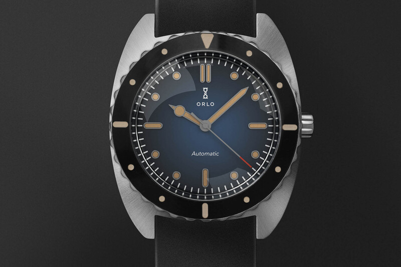 ORLO Watches Launches the Ticonite Watch on Kickstarter, a Scratchproof Automatic Dive Watch