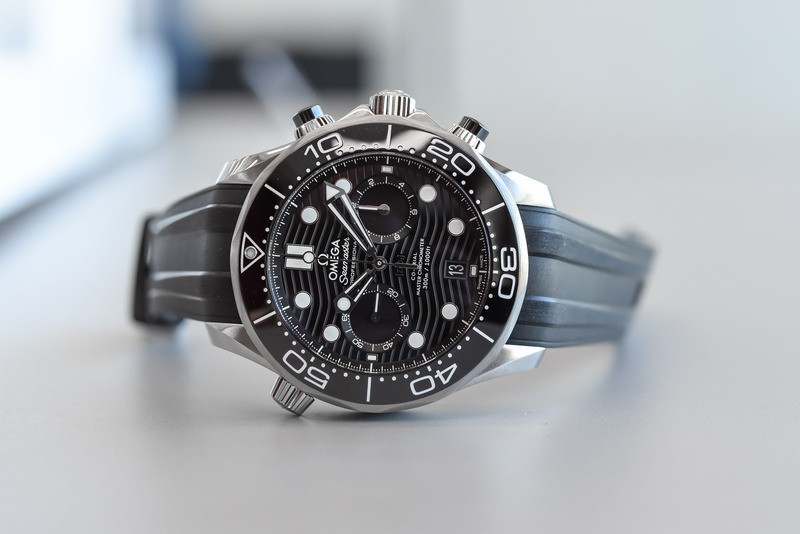 Omega Seamaster Diver 300M Chronograph (Hands-On)