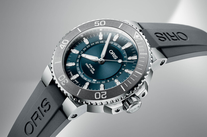 Oris 'Source of Life' Limited Edition – Based on a new Aquis Circular Date