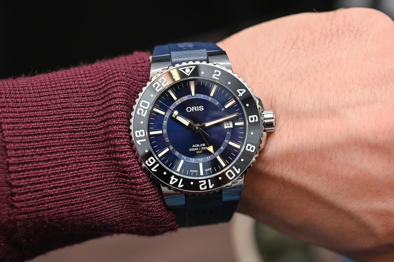 Oris Aquis GMT Date – A Rugged SUV for Globetrotters