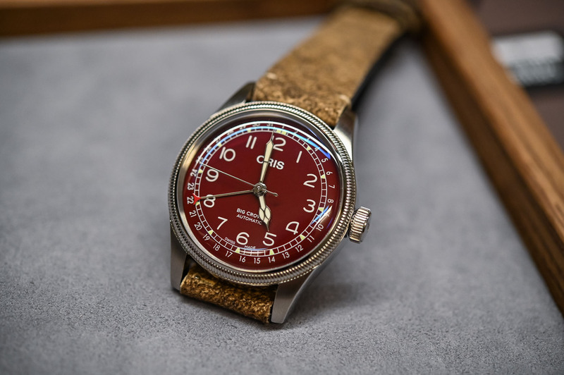 Oris Big Crown Pointer Date 40mm, With One Cool Oxblood Red Dial