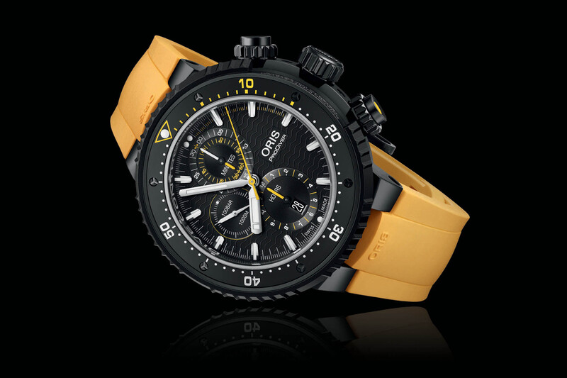 Oris Dive Control Limited Edition – A Robust Chronograph with Bezel-Locking Device