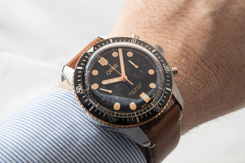 Oris Divers Sixty-Five Chronograph – Black and Bronze and Cool all Over
