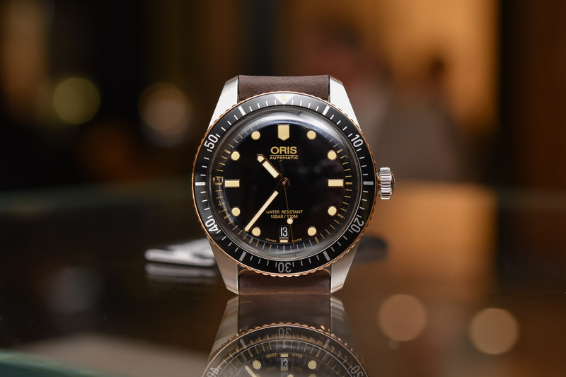 Oris Divers Sixty-Five Steel and Bronze (40mm and 36mm)