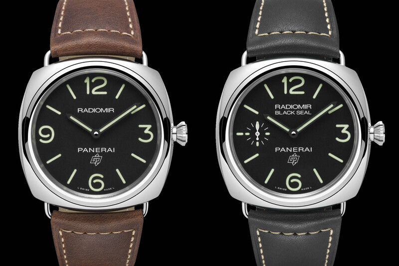 Panerai's New Entry-Level Watches – Radiomir Logo 3 Days PAM00753 & Radiomir Black Seal Logo 3 Days PAM00754