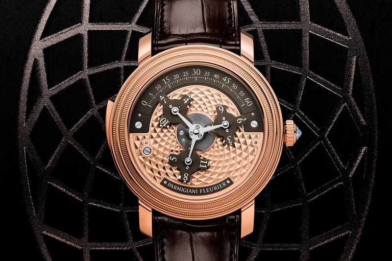 Parmigiani Fleurier Toric Capitole in Rose Gold / Brown Dial