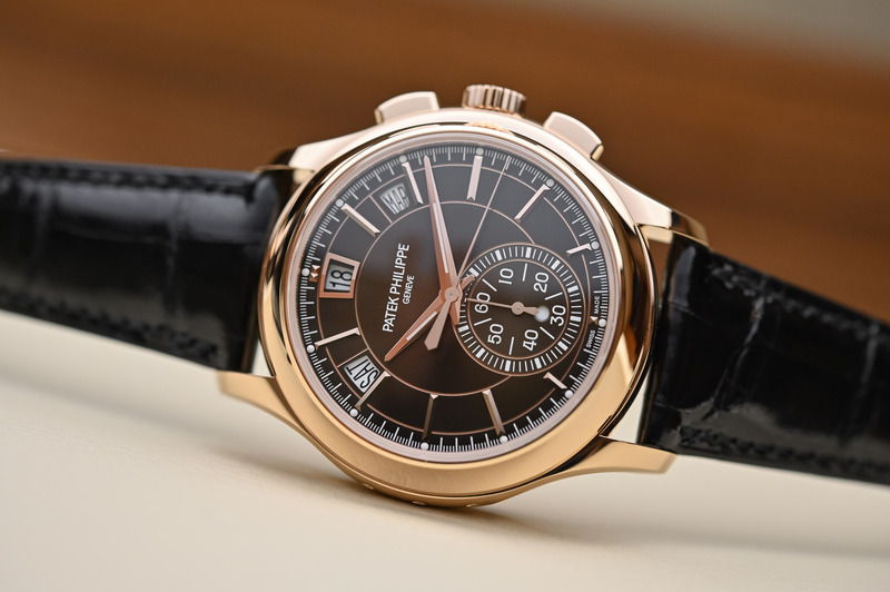 Patek Philippe Chronograph Annual Calendar 5905R, now with Brown Dial