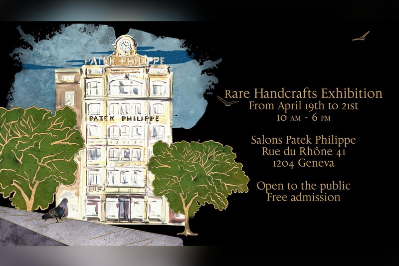Patek Philippe To Showcase the 2018 Rare Handcrafts Timepieces at its Geneva Salons (April 19 to 21)
