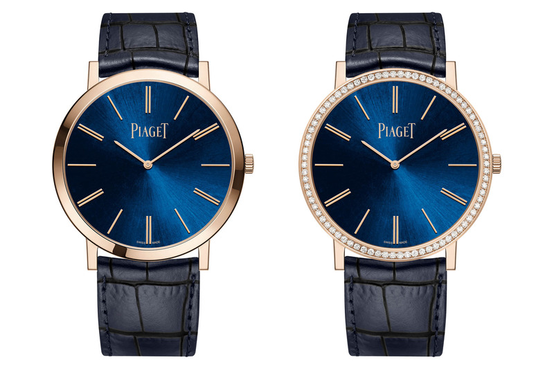Piaget Altiplano 38mm Hand-Wound Blue and Pink Gold
