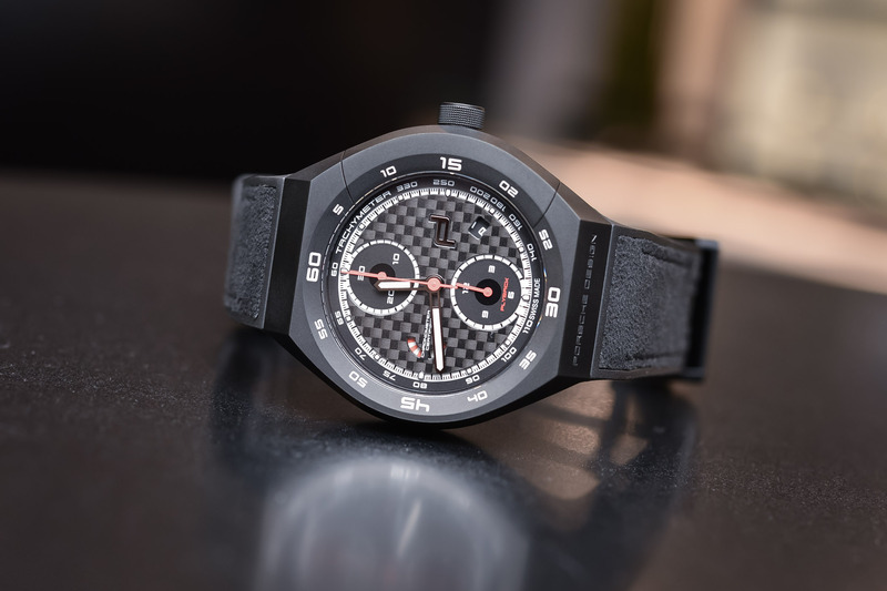 Porsche Design Monobloc Actuator Chronotimer Flyback Limited Edition (now with proprietary movement)
