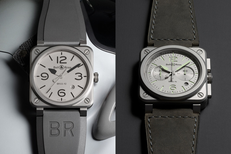 Pre-Baselworld 2018 – Bell & Ross BR03-92 Horoblack and BR03-94 Horolum
