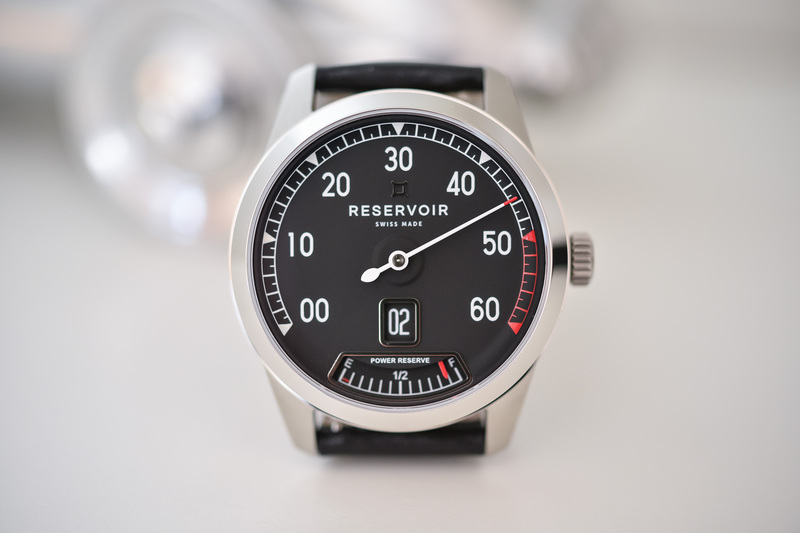Reservoir Supercharged Sport – Automotive-Inspired with Cool Jumping Hour/Retrograde Minute Display