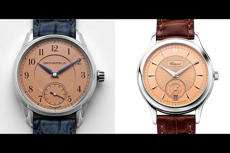 Salmon Dial Watches and Limited Editions by Hodinkee and Revolution