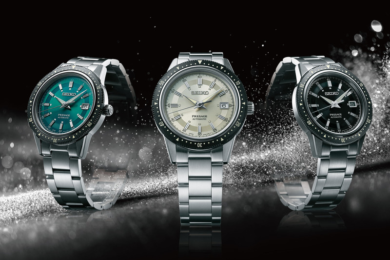 """Seiko Presage 2020 Limited Edition, Tribute to the 1964 """"Crown Chronograph"""""""