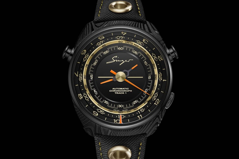 Singer Track 1 Damascus Only Watch 2019, a collaboration with GoS Watches