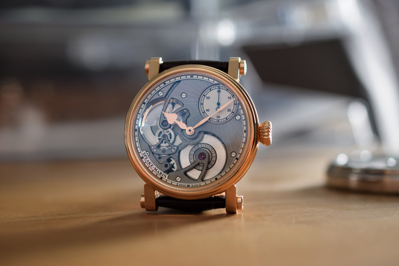 Speake-Marin One & Two Openworked – A View of the Movement and Eccentric Seconds