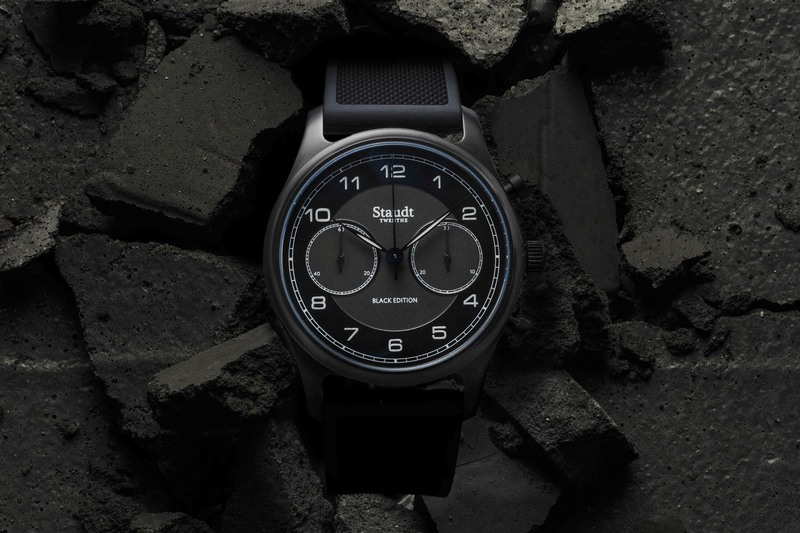 Staudt Praeludium Chronograph Black Edition (Today's most Appropriate Novelty…)
